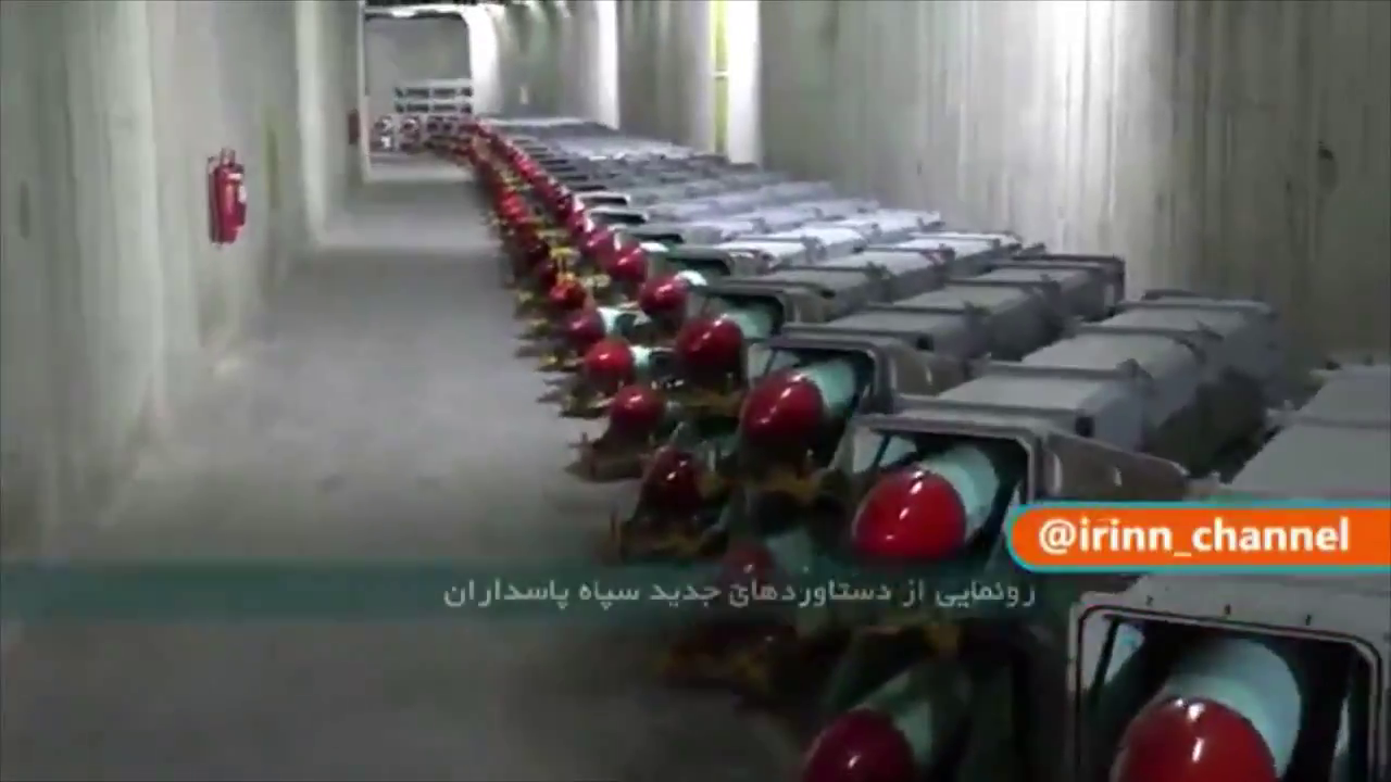 NEW - Iran unveils a new missile city at an undisclosed location.
