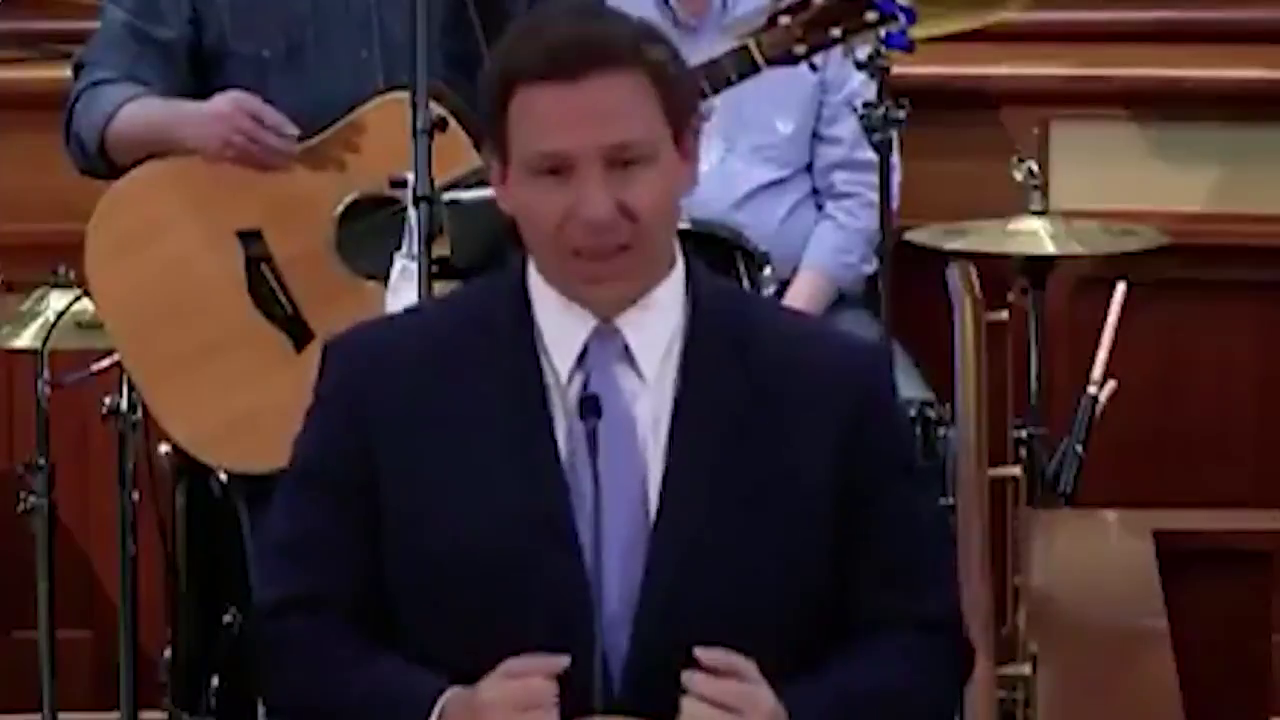 "Ron DeSantis against ""vaccine passports.""! Good Luck defying the NWO's progress!"