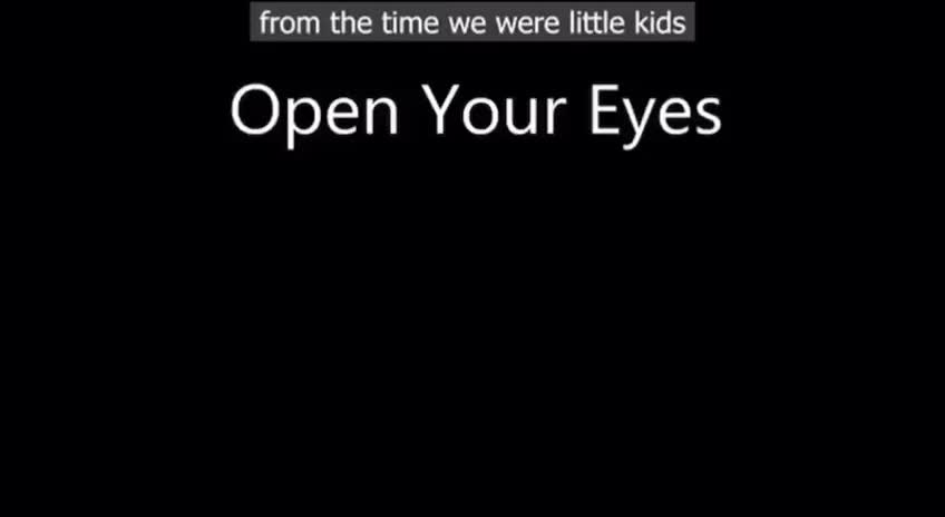Open your Eyes by Russ Francis