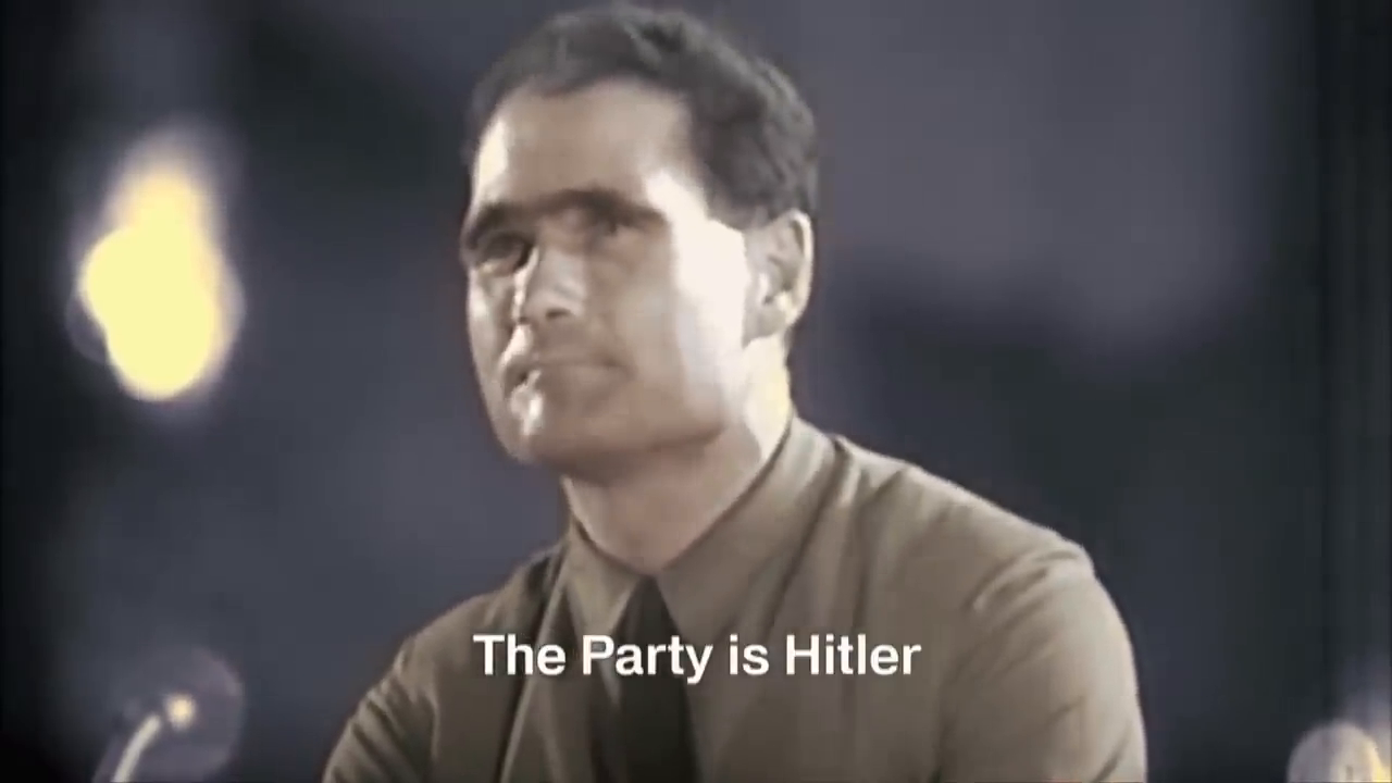 THIRD REICH - Rudolf Hess Tribute