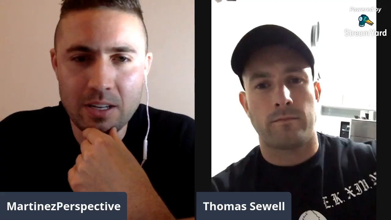 Martinez Perspective has a chat with Thomas Sewell