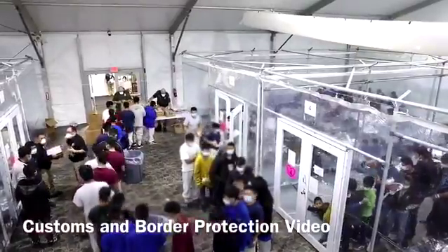 Breaking: Leaked footage migrant detention facility