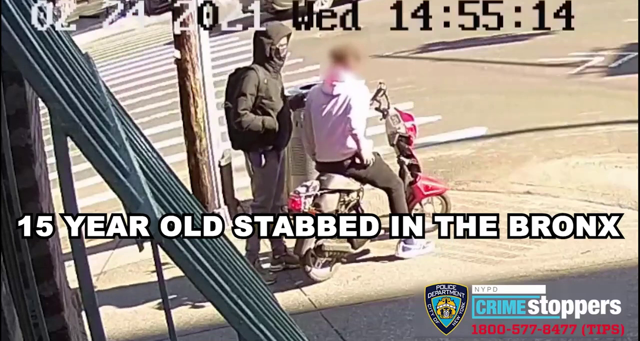 Bronx - An inhuman animal Brutally Stabbed a 15 Year Old White Boy In Broad Daylight