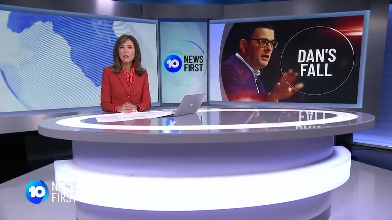 Daniel Andrews Hospitalised After Breaking Ribs In Fall _ 10 News First