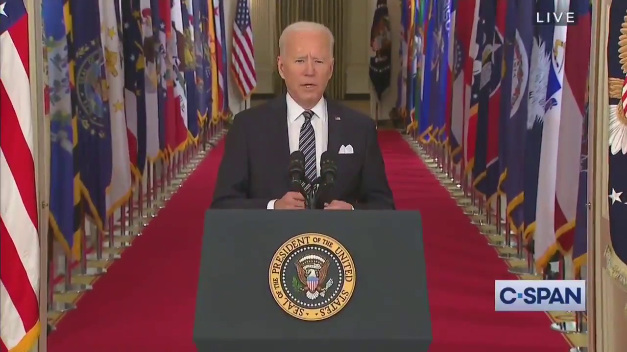 Biden takes shots at Trump to begin his primetime address: