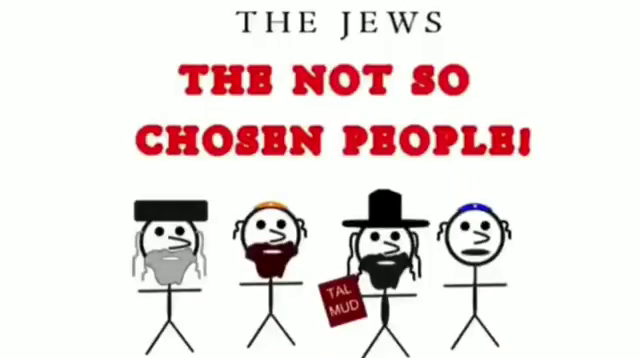 THE JEWS - the not so chosen people