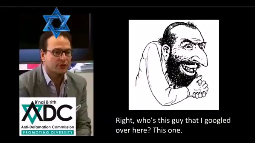Bastard jew lies and hate Indoctrination for the White Race purge