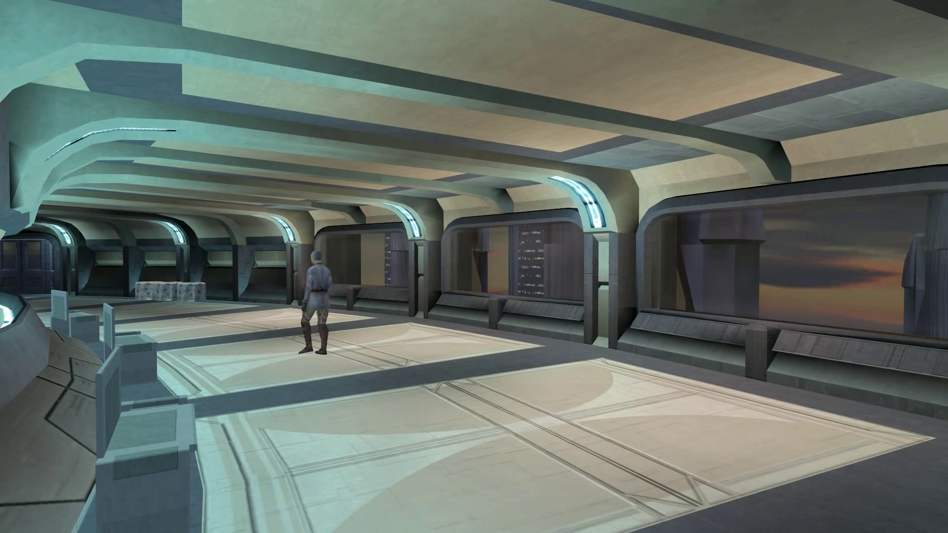 Star Wars: Knights of the old Republic Ambience Music - Taris Apartments