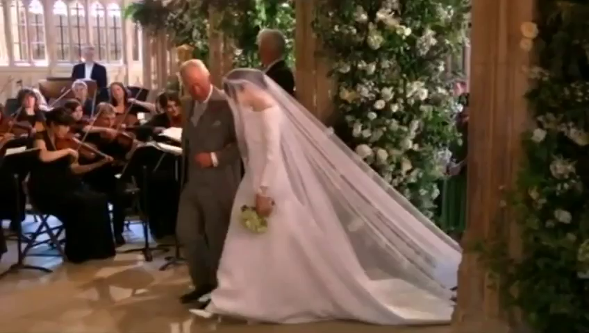 Flashback to the Royal Wedding- so beautiful this it brought a tear to my eyes