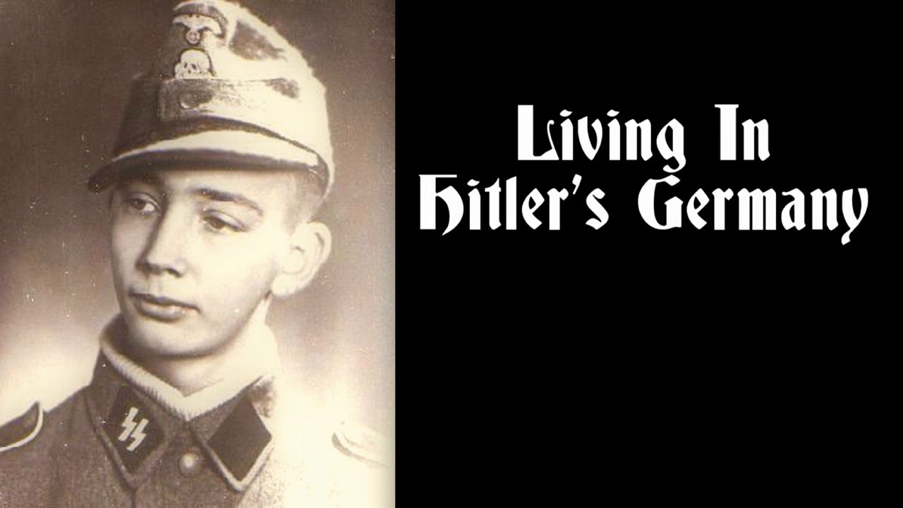 Life In Hitler's Germany, A Letter from Hans Schmidt