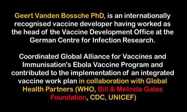 Professor Bossche (ex Bill Gates Foundation) WARNS AGAINST the current mass COVID vaccinations