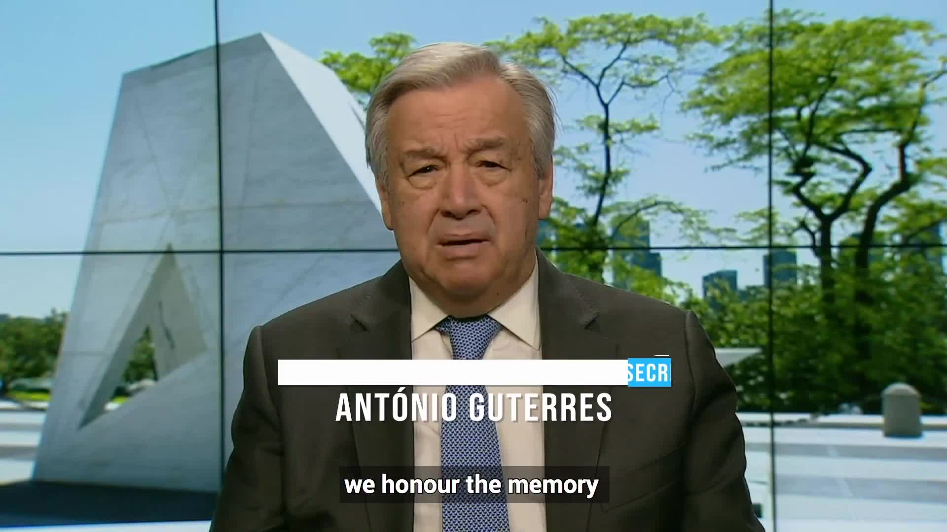The Root💰 of ALL Evil: Head UN Chief Recalls Slavery; NO Mention of White Slaves