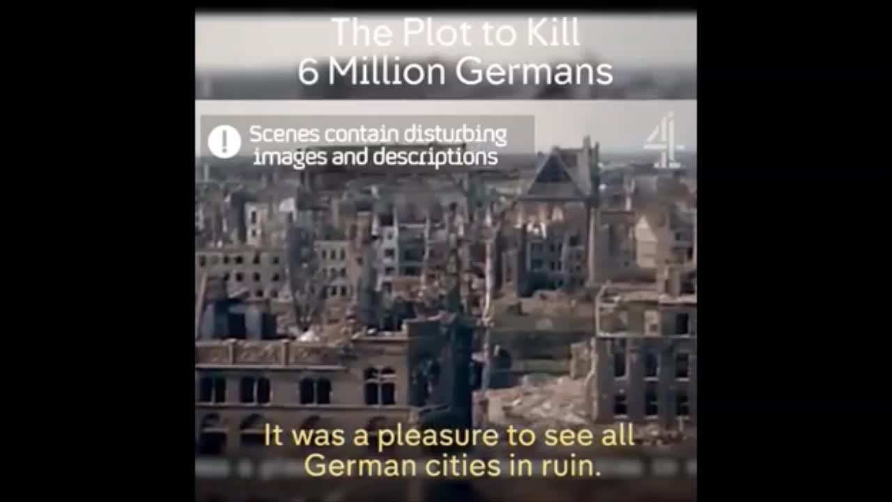 The Jewish plot to kill six million Germans