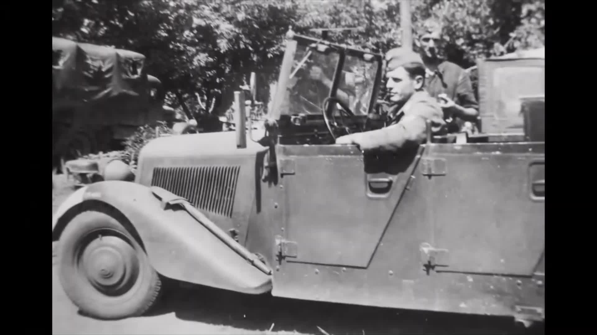 Mercedes-Benz vehicles in use by the Third Reich during the war.
