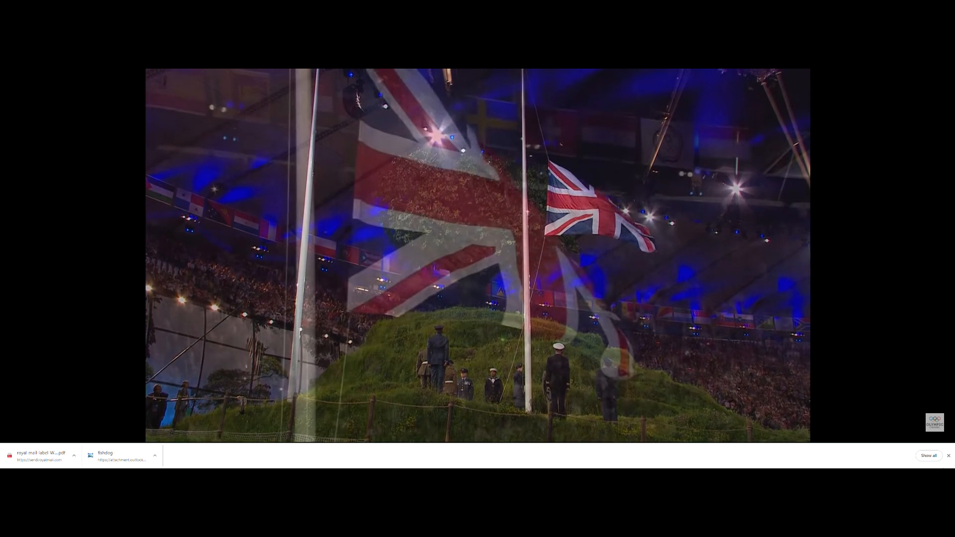 The Satanic Corona Virus Ritual at the 2012 Olympics with commentary by Alistair Williams