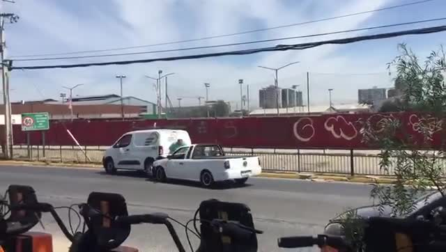 Santiago Chile - Road Rage Incident Turn Into Attempted Murder