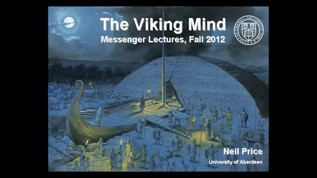 Life and Afterlife - Dealing with the Dead in the Viking Age.Professor Neil Price 2 of 3