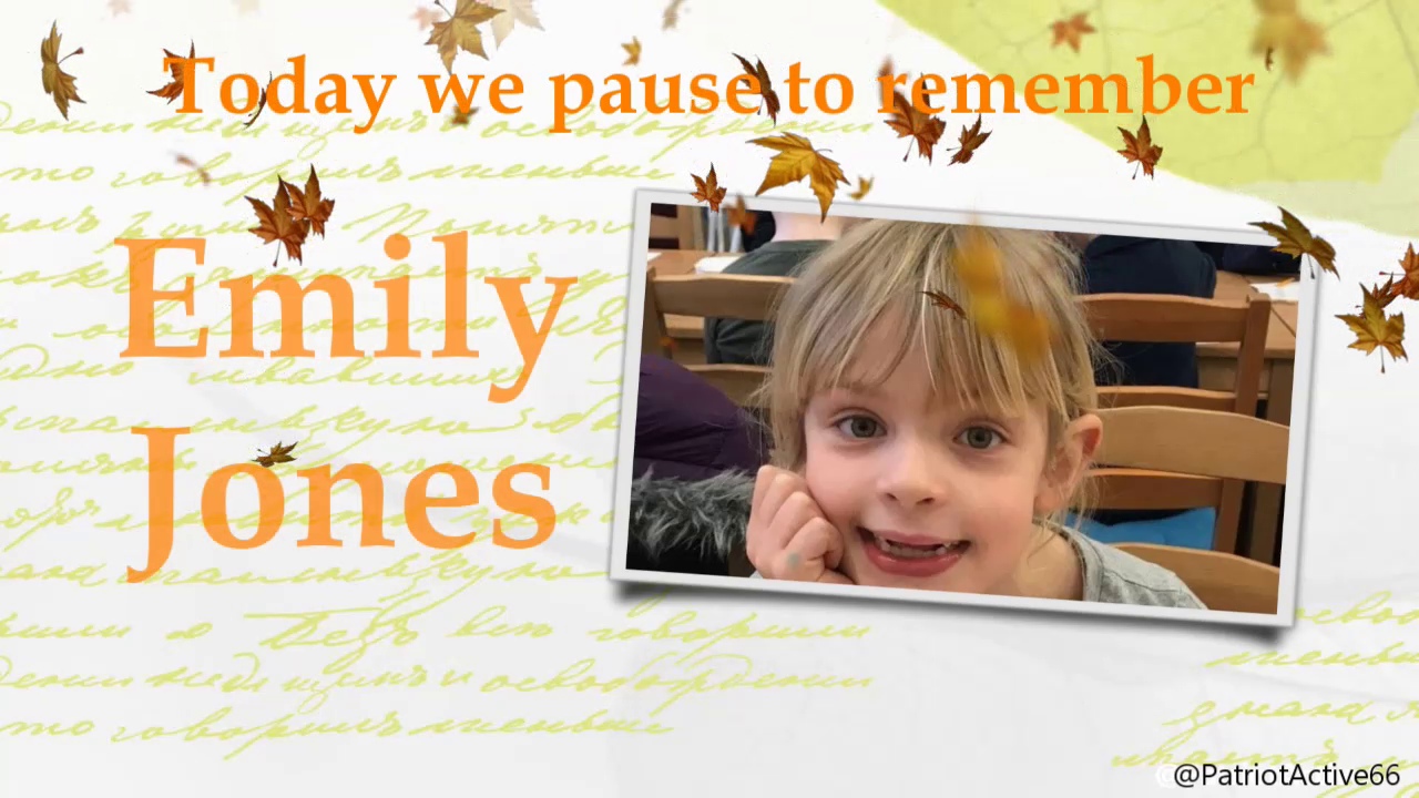 RIP EMILY, YOUR COUNTRY FAILED YOU