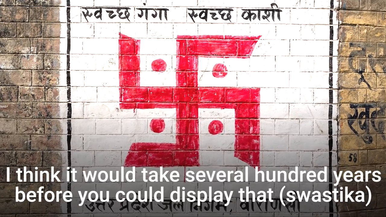 The swastika was a symbol of peace until Hitler stole it