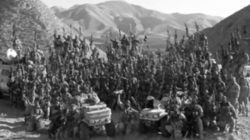 Norwegian soldiers from Telemark in Afganistan war cry ''Til Valhall''!