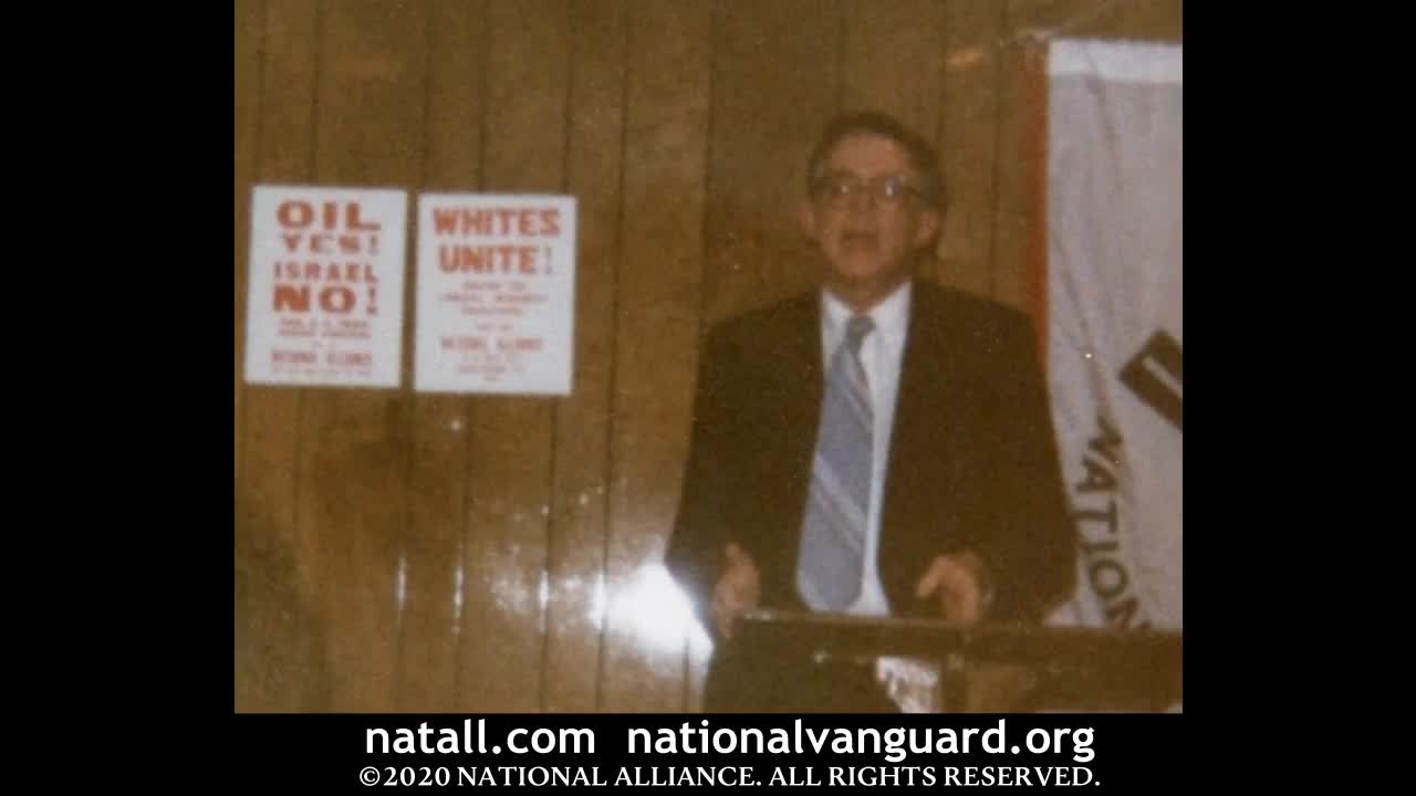 Dr. William Pierce - Thinking About a White Future