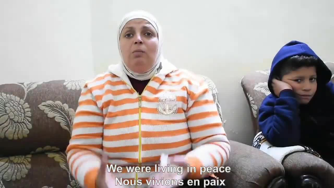 Woman in Aleppo: life is very hard, from Pierre le Corf