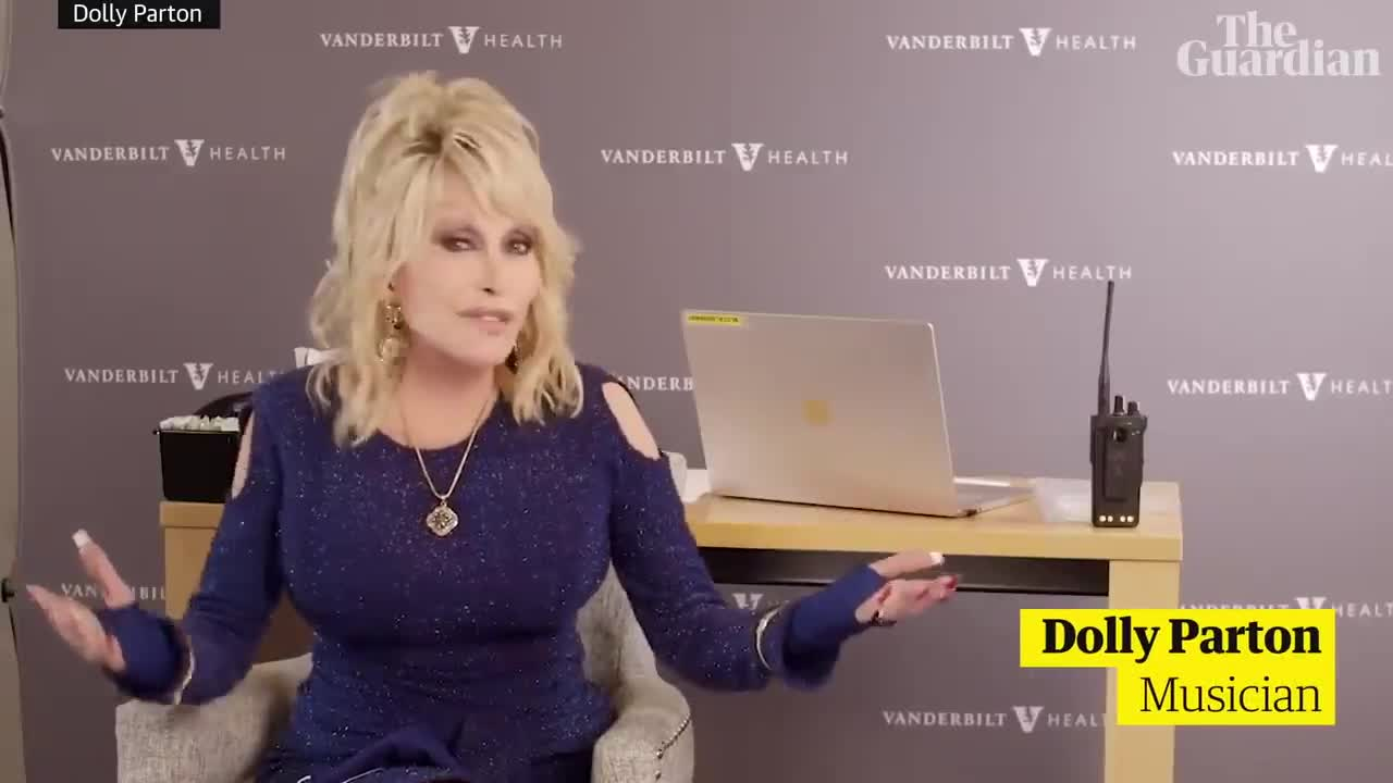 Dolly Parton adapts her song Jolene as she receives Covid-19 vaccine she helped fund