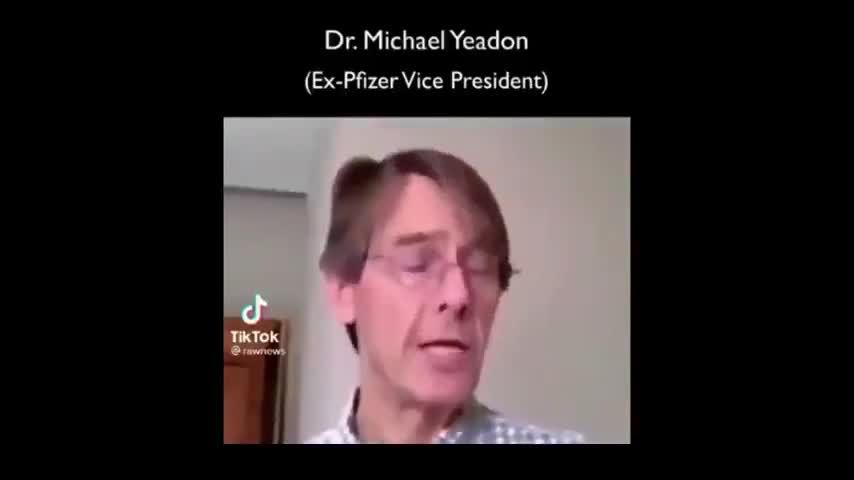 Former Pfizer VP Dr. Michael Yeadon vax warning - Something Very Smelly is Going on