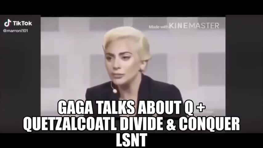 Lady Gaga Talks Quetzalcoatl Divide & Conquer Chessboards