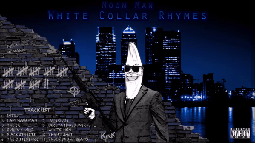 Moon Man - White Collar Rhymes (Full Album)
