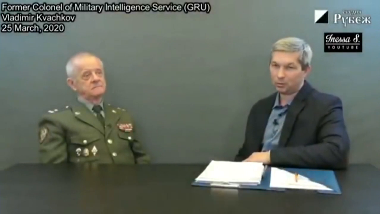 "EX-RUSSIAN INTEL OFFICER, ""Depopulation agenda is REAL"""