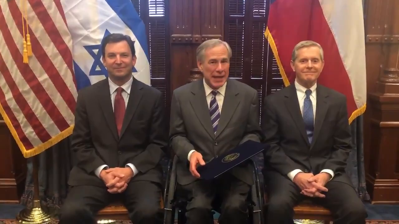 PLEDGING THEIR LOYALTY TO THEIR MASTERS! GREG ABBOTT CALLS GAB 'ANTISEMITIC'!