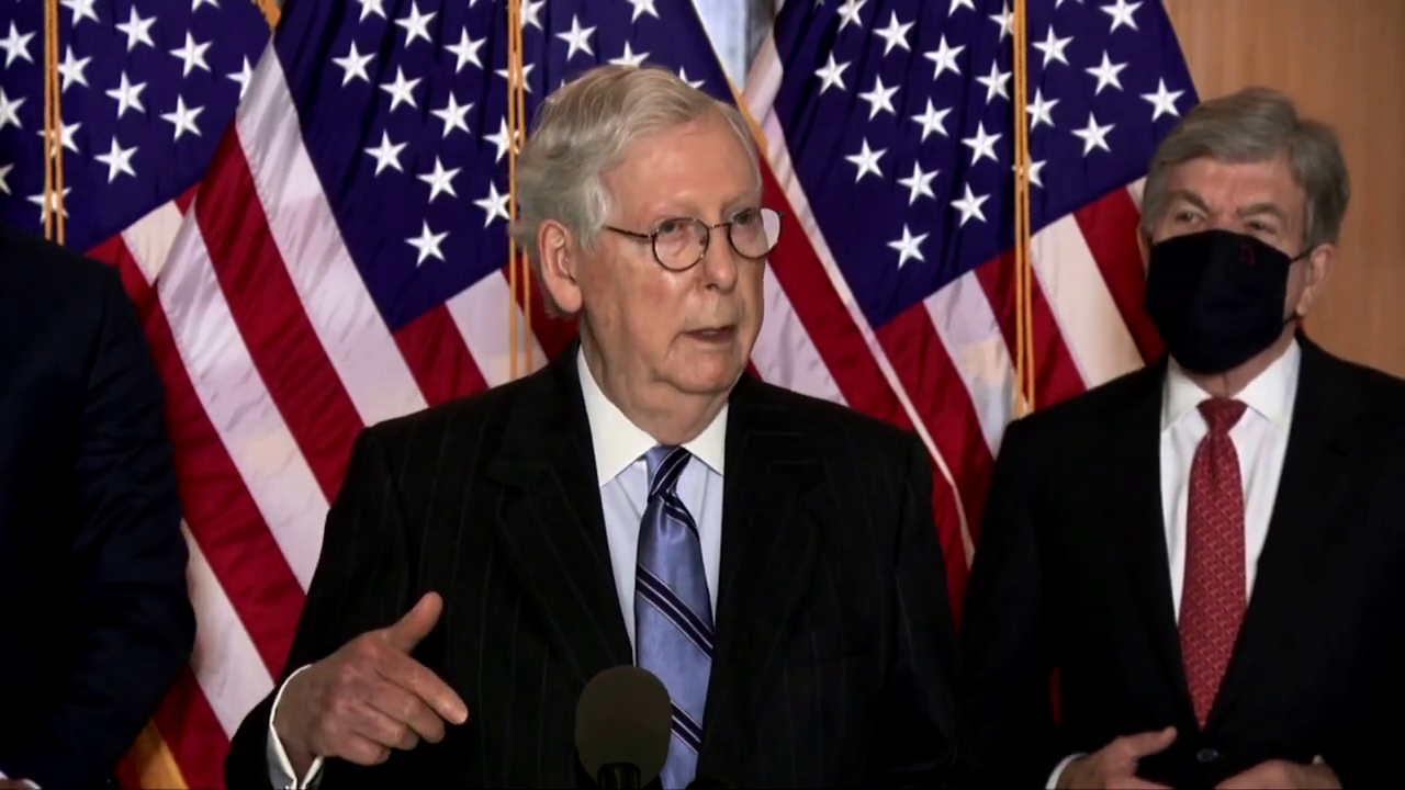 BITCH MCCONNELL IS BITCHING AGAIN!