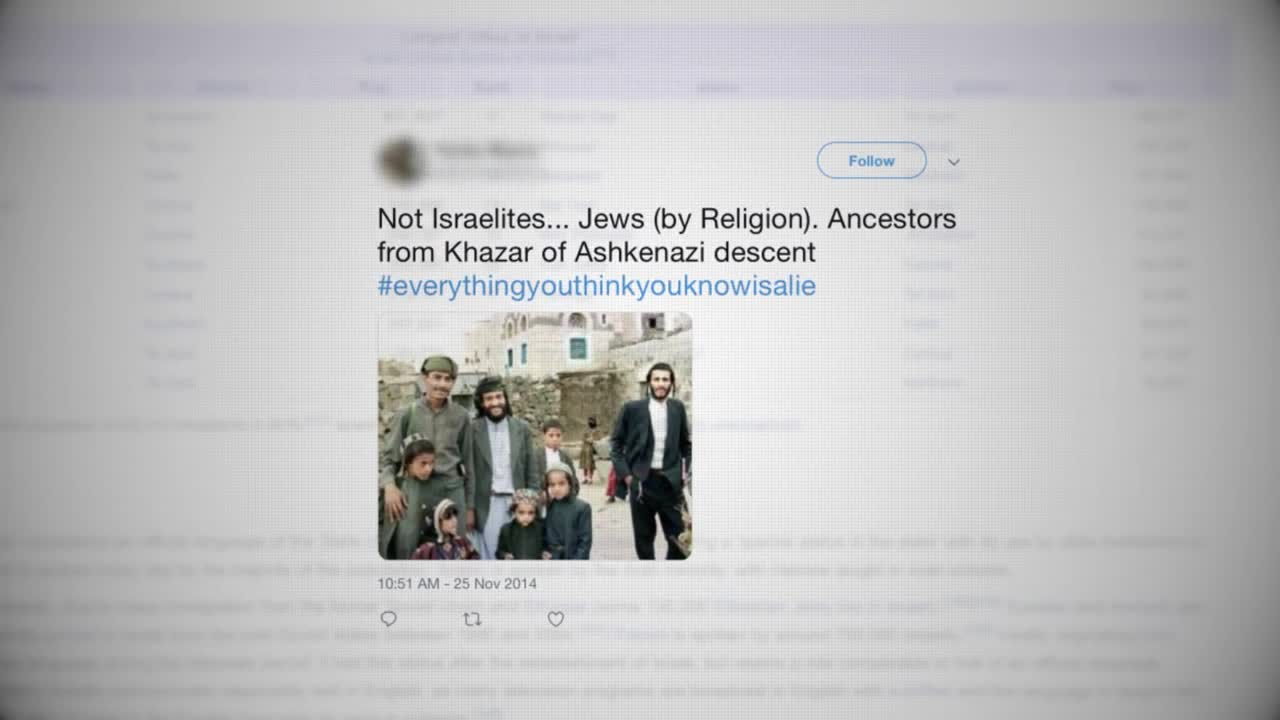 Ashkenazi Jews try to cover up their origins