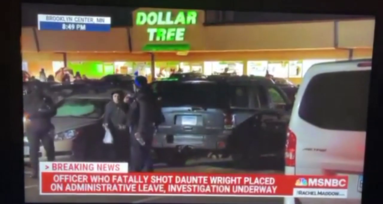 Brooklyn Center MSNBC Reporter Is Threatened During Live Broadcast! :)