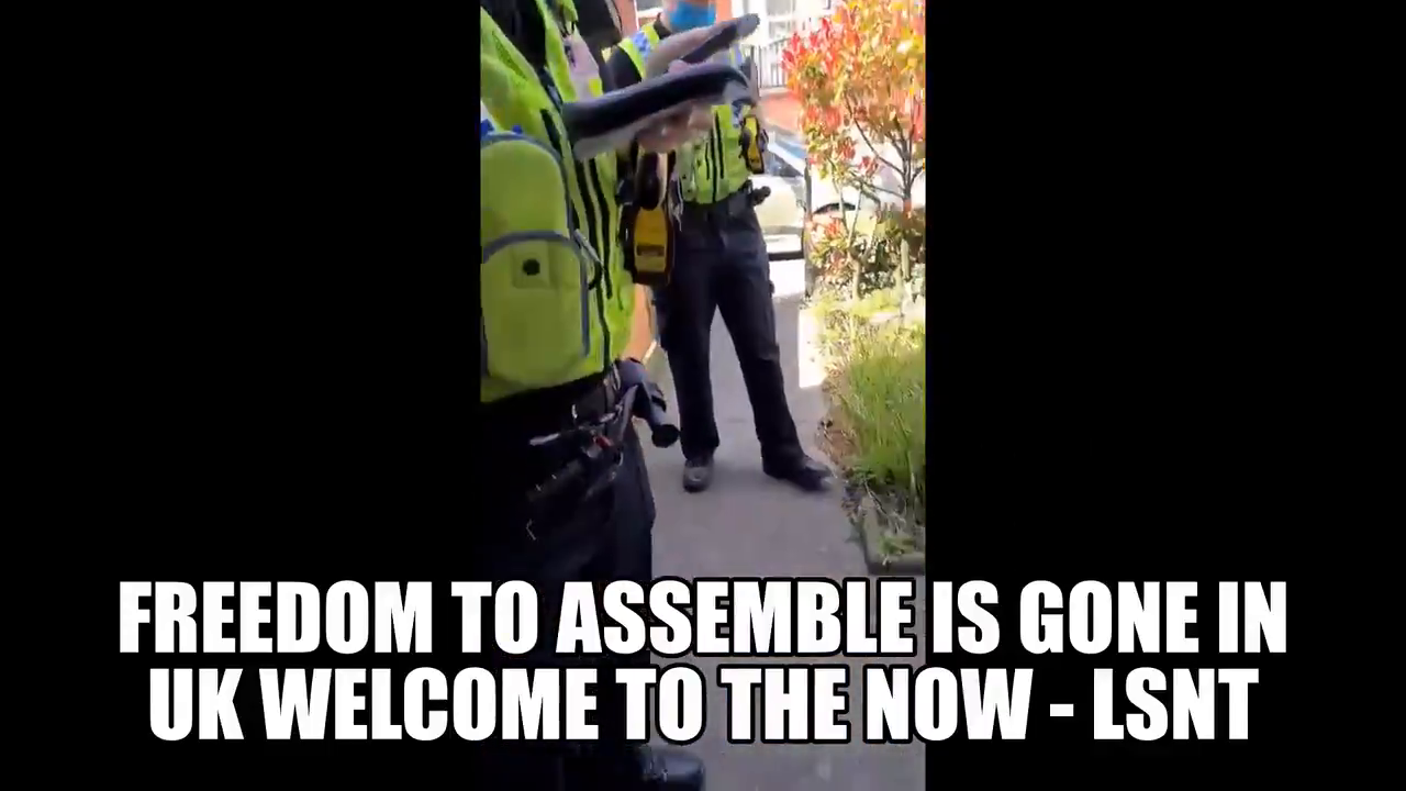 UK is now tracking White protesters too! smh