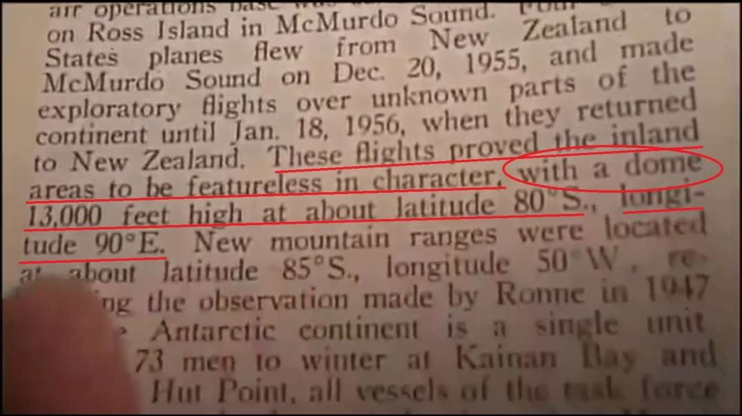 1958 Encyclopedia Americana References Antarctic Dome - You Be The Judge