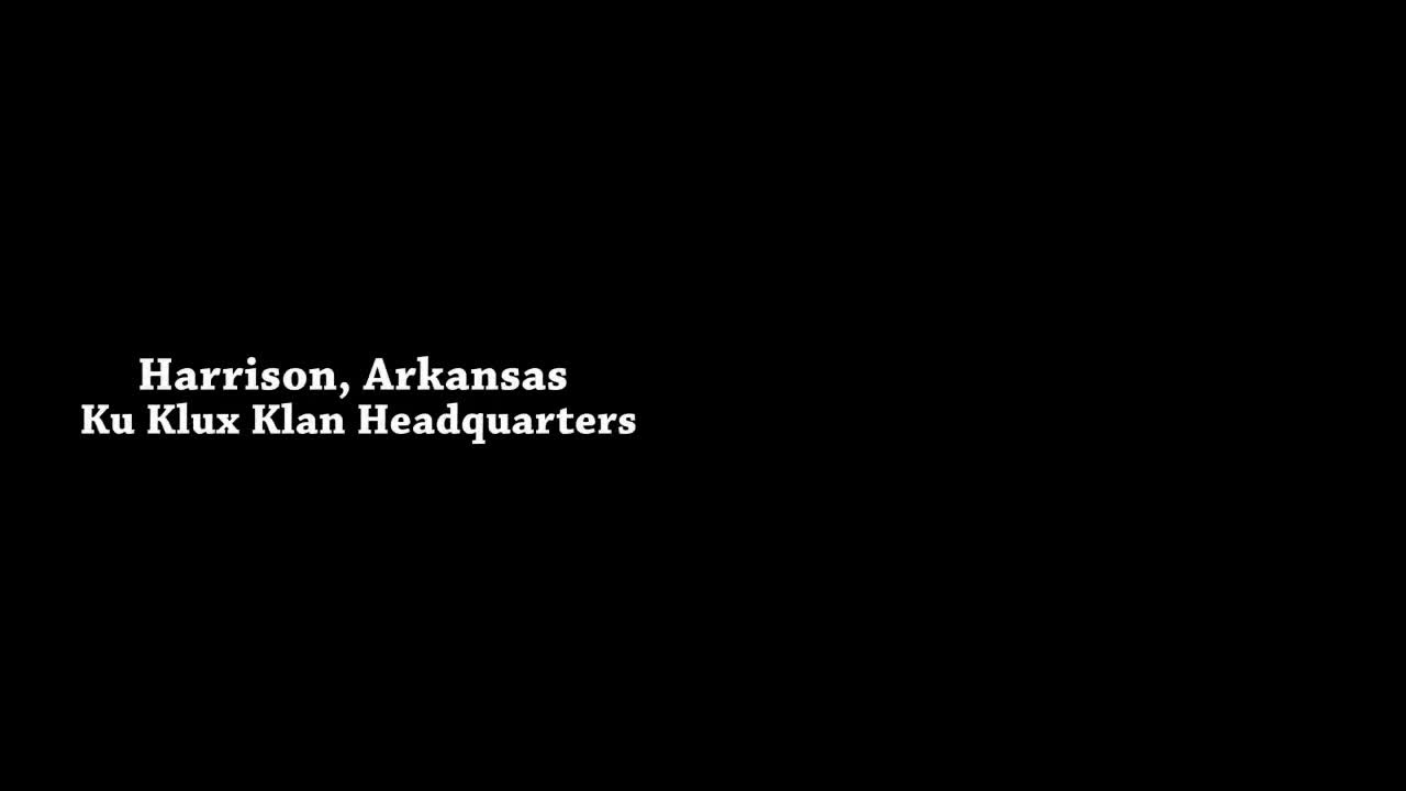 lefty faggot holds BLM sign in based Harrison AK