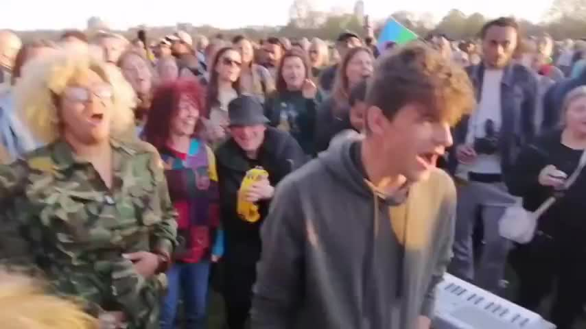 Pigs Try to End Party In Hyde Park After the protest!