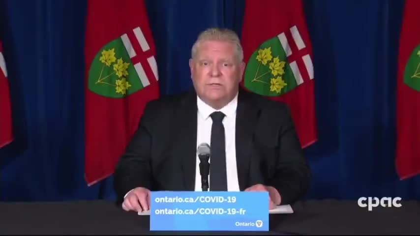 Ontario Canada is now Officially a Police State