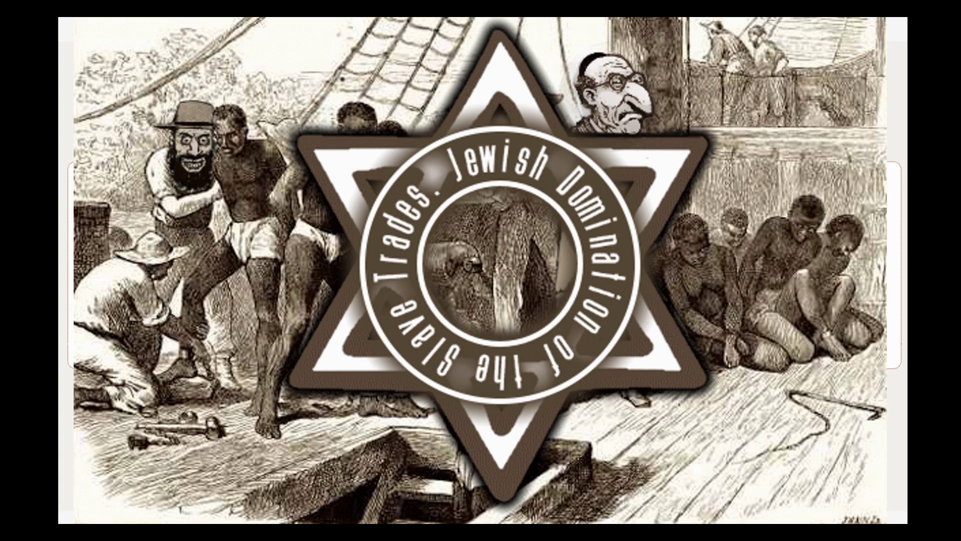 Jewish Domination of Slaver Trades