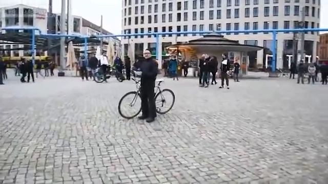 German citizen reads the German Constitution in a public square. Cops show him why the Constitution means nothing