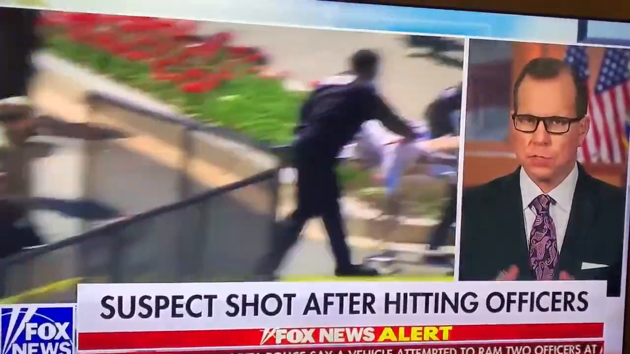 Breaking: cop dead after black rams car into police at US Capitol barricade (link below)