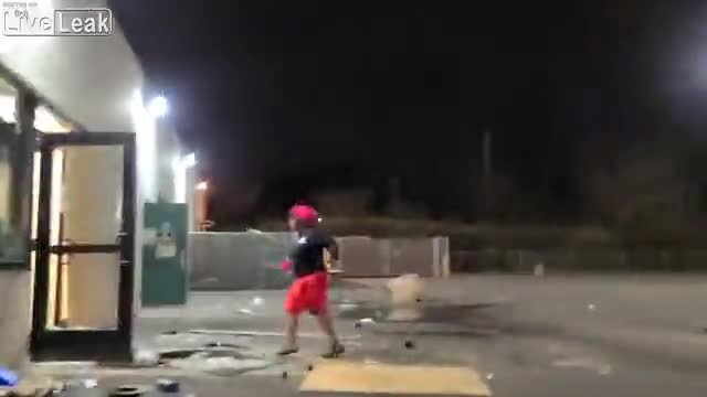 Looting A Hardware Store In First Person Video
