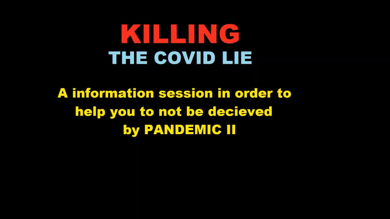 Killing the Covid Lie