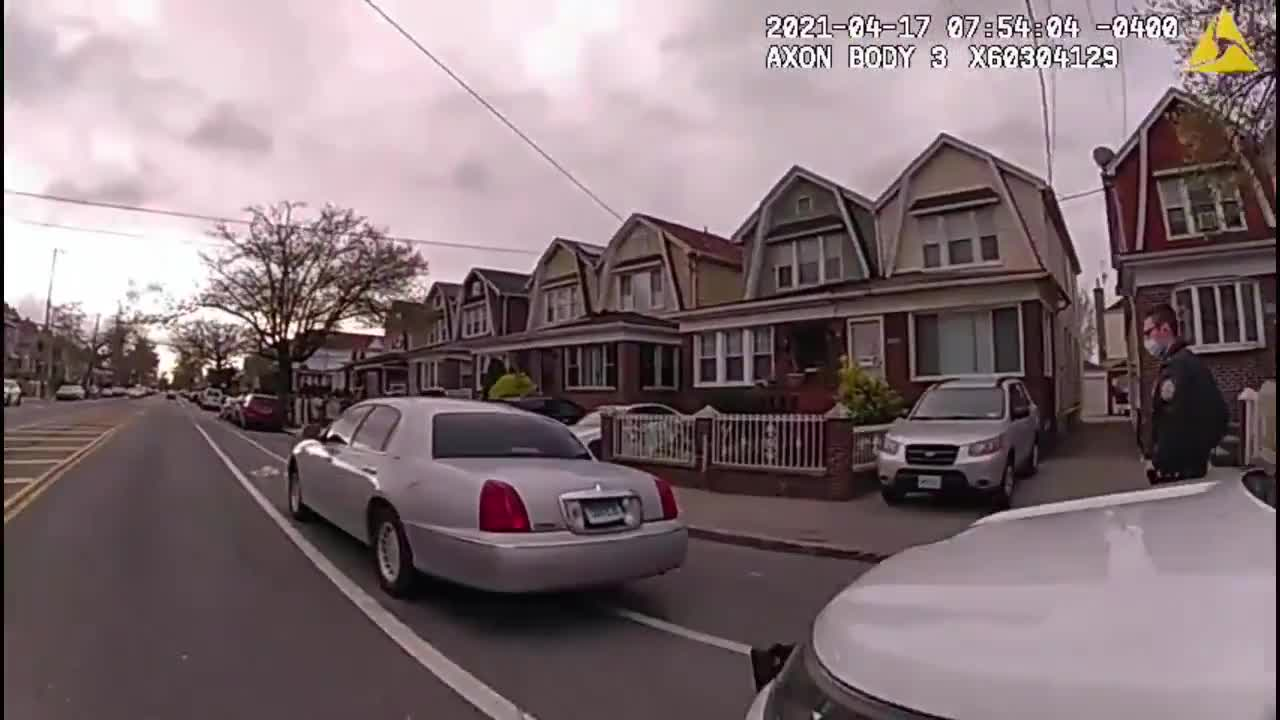 Brooklyn Cop Gets Chemical Thrown In His Face During Traffic Stop an unknown black species