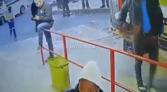 South Africa: a pack of wild kaffirs murder a white man and loot his body. They only got a few Rand and a phone out of it.