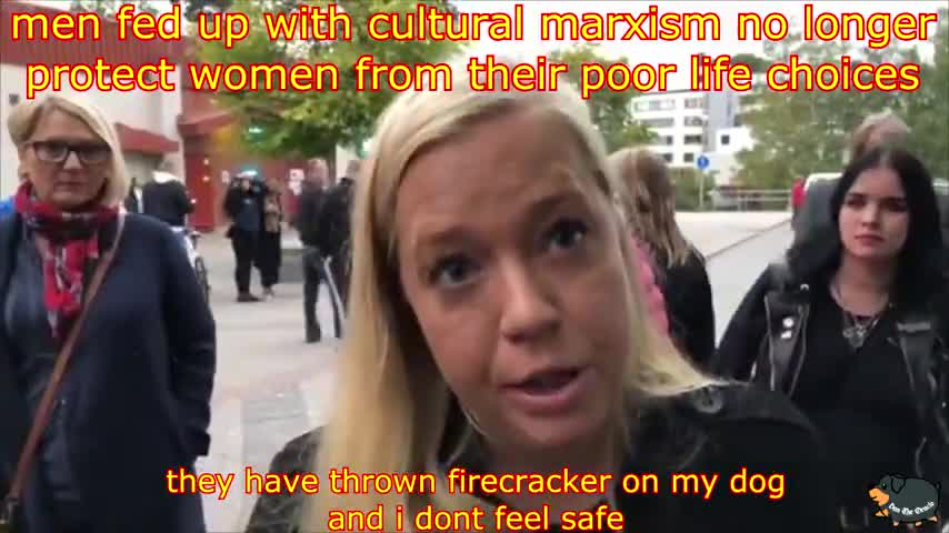 Sweden; Women complaining men no longer risking their lives to protect women from their own mistakes