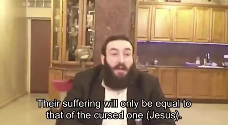 WHAT (((THEY))) REALLY SAY ABOUT CHRIST AND CHRISTIANS