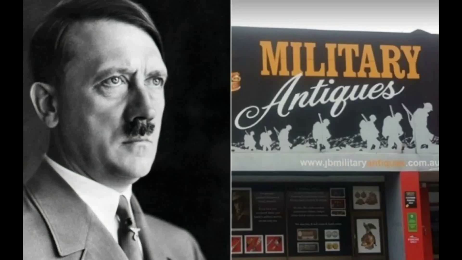 Perth Adolf Hitler Memrobilia auctioned